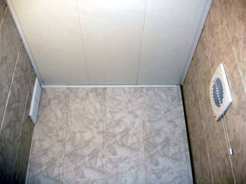 Отделка ванной комнаты пластиковыми