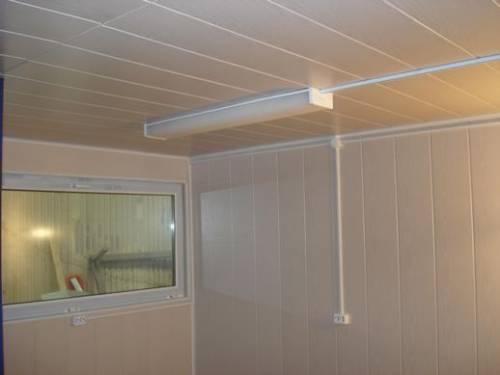 Отделка панелями ванной комнаты фото