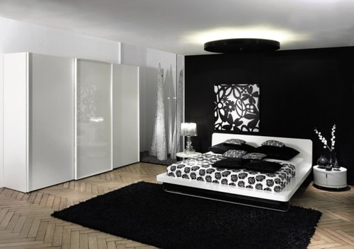 30 Groovy Black And White Bedroom Ideas  SloDive