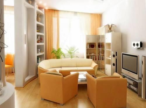 Дизайн гостиной 16