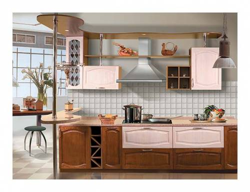 Дизайн кухни 8 м фото